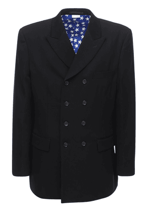 Double Breasted Wool Formal Jacket