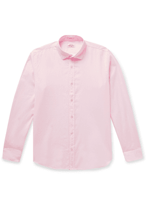 Hartford - Slim-Fit Cotton Shirt - Men - Pink