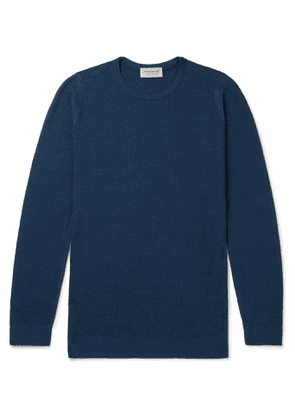 John Smedley - Slim-Fit Merino Wool Sweater - Men - Blue