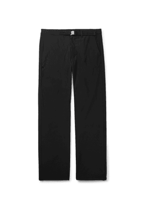 Norse Projects - Alvar Belted GORE-TEX INFINIUM Trousers - Men - Black