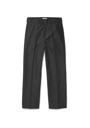 Our Legacy - Wide-Leg Shell Trousers - Men - Black