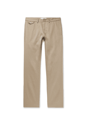 Orlebar Brown - Myers Slim-Fit Stretch Cotton-Blend Trousers - Men - Neutrals