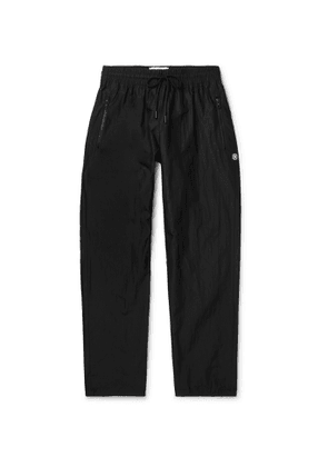 Reigning Champ - Nylon Drawstring Trousers - Men - Black