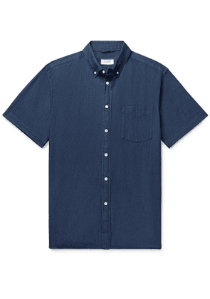 Saturdays NYC - Button-Down Collar Denim Shirt - Men - Blue