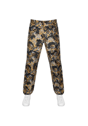 Versace Jeans Couture Baroque Trousers Black