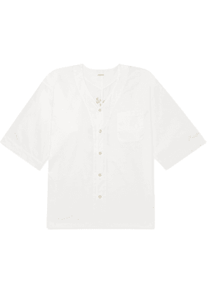 Wacko Maria - Oversized Printed Cotton Shirt - Men - White
