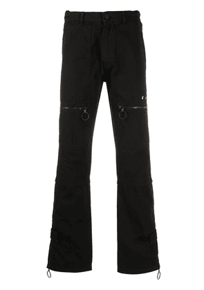 Cotton Straight Leg Jeans