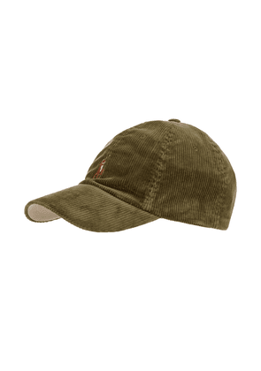 Sports Cap - Green Corduroy