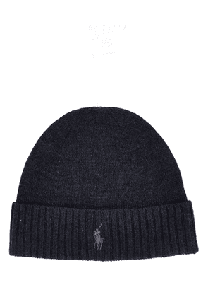 RALPH LAUREN MEN'S 710761415004 GREY WOOL HAT