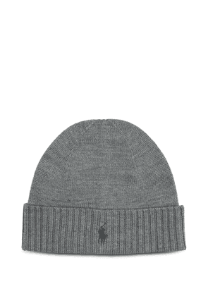 RALPH LAUREN MEN'S 710761415001 GREY WOOL HAT