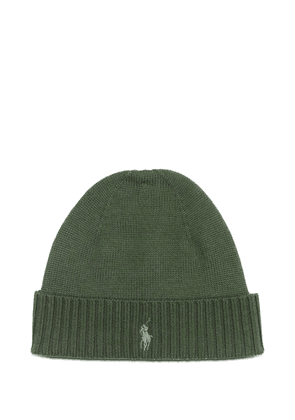 RALPH LAUREN MEN'S 710761415005 GREEN WOOL HAT