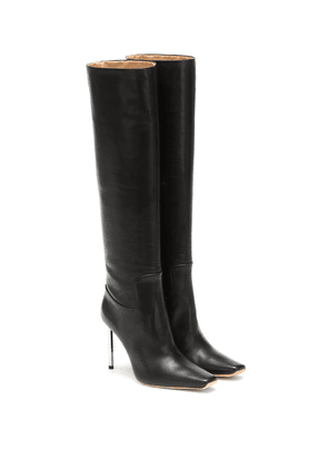 Allen knee-high leather boots