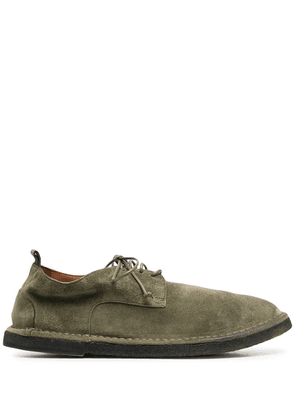 Marsèll textured lace-up loafers - Green