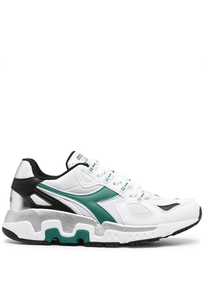 Diadora panelled lace-up sneakers - White