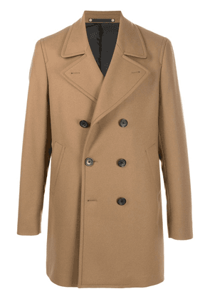 PS Paul Smith double-breasted coat - Brown