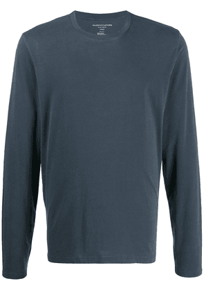 Majestic Filatures crew neck long-sleeve T-shirt - Blue