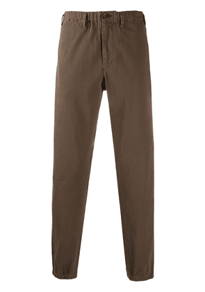 PS Paul Smith tapered leg trousers - Brown