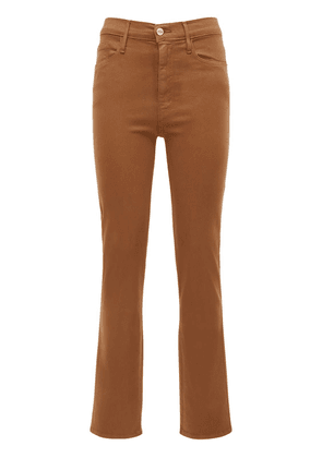 Le Sylvie Coated Cotton Jeans