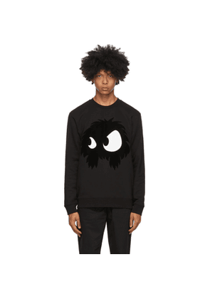 McQ Alexander McQueen Black McQ Swallow Chester Monster Sweatshirt