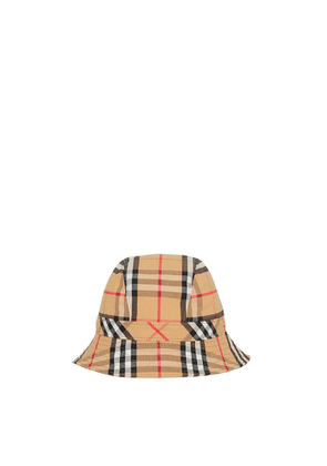 Burberry Checked Cotton-blend Bucket Hat