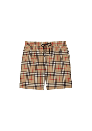 Burberry BUR C/O CHECK SWIM SHORT