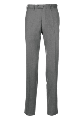 Pt01 slim-fit tailored trousers - Grey