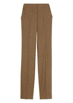 Burberry Prince of Wales check trousers - BROWN IP PTTN