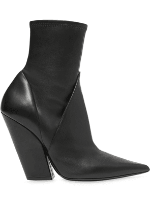 Burberry panelled ankle boots - Black