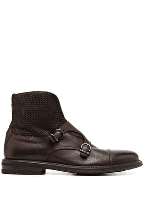 Fratelli Rossetti buckle detail boots - Brown