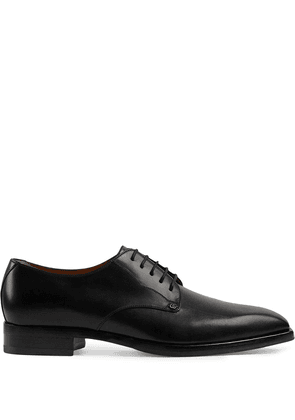 Gucci leather lace-up shoes - Black