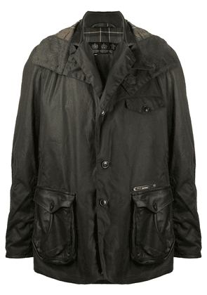 Barbour Supa-Com wax coated jacket - Green
