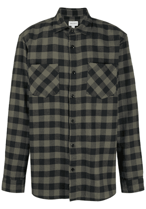 Woolrich checked flannel shirt - Black