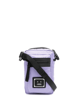 Acne Studios logo plaque pocket bag - Purple