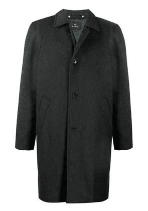 PS Paul Smith single-breasted mid-length coat - Grey