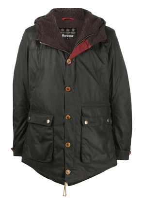 Barbour Hereford single-breasted coat - Green
