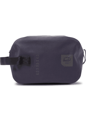 HERSCHEL SUPPLY CO - Chapter Tarpaulin Wash Bag - Men - Blue