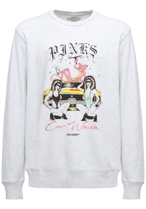 Pink's Printed Cotton Sweatshirt