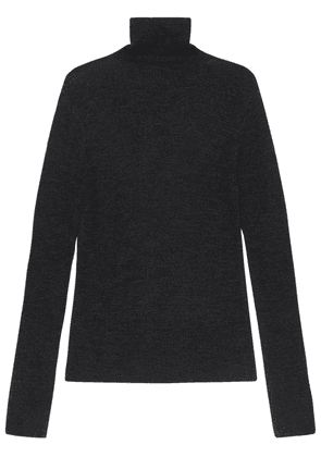 Recycled Wool Knit Turtleneck Sweater