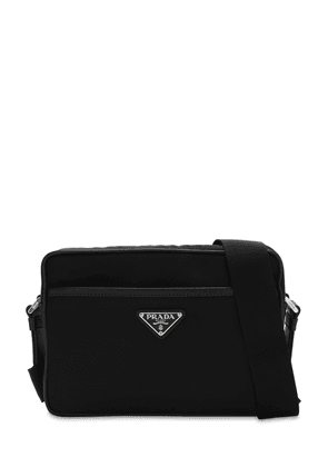 Logo Patch Nylon Camera Bag