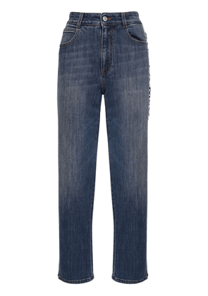 Cropped Eco Denim Straight Jeans