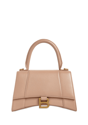 Sm Hourglass Leather Bag