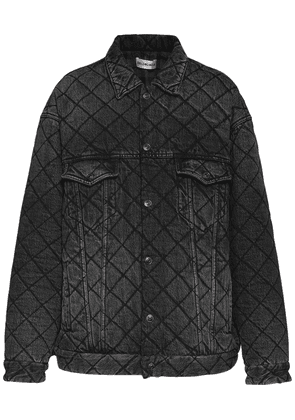 Organic Cotton Denim Quilted Jacket