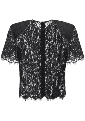 Sheer Cord Lace Top