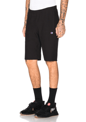 Champion Reverse Weave Champion Bermuda Shorts in Black - Black. Size S (also in ).