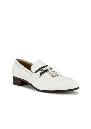 Gucci Paride Loafer in Dusty White - White. Size 9 (also in 10.5, 8.5, 9.5).