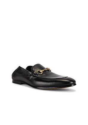 Gucci Horsebit Leather Loafer in Nero - Black. Size 10 (also in 11, 7, 8, 9).