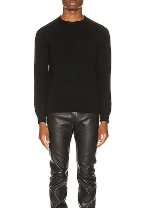 Saint Laurent Cashmere Sweater in Black - Black. Size L (also in S).