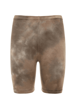 The Milan Cotton Biker Shorts