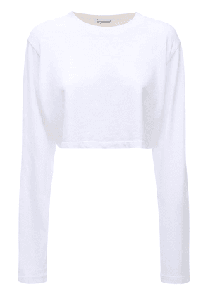 The Tokyo Cropped Cotton T-shirt