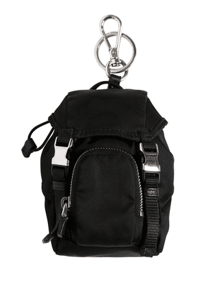 Mini Nylon Backpack Key Holder